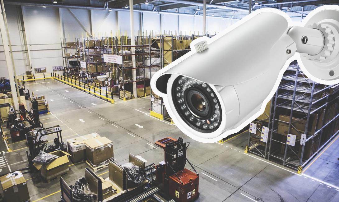 Охранное видеонаблюдение для складских помещений